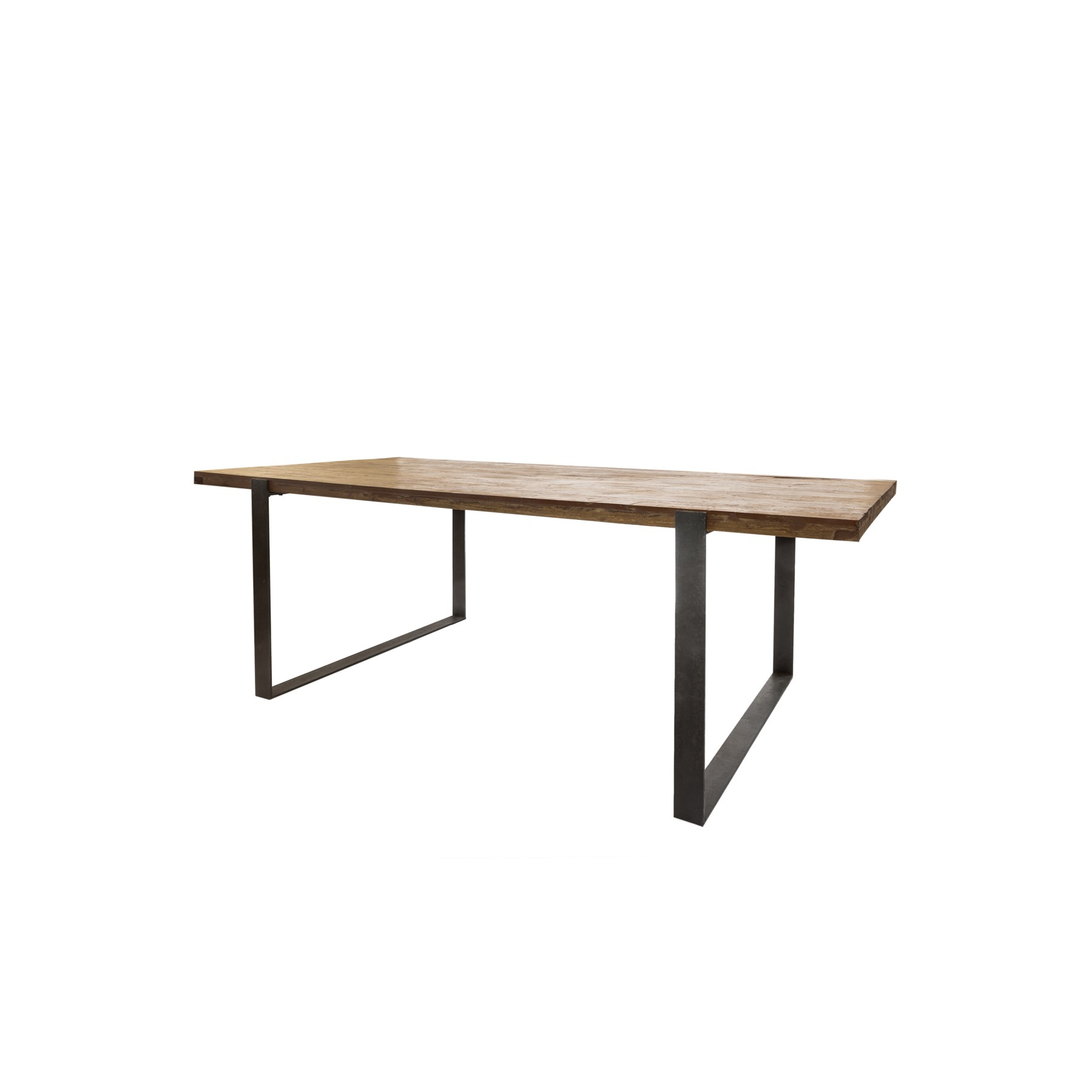 Mesas madera y hierro awesome madera suarhierro photo ag for Patas de hierro para mesas