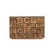 Cómoda Alfabeto