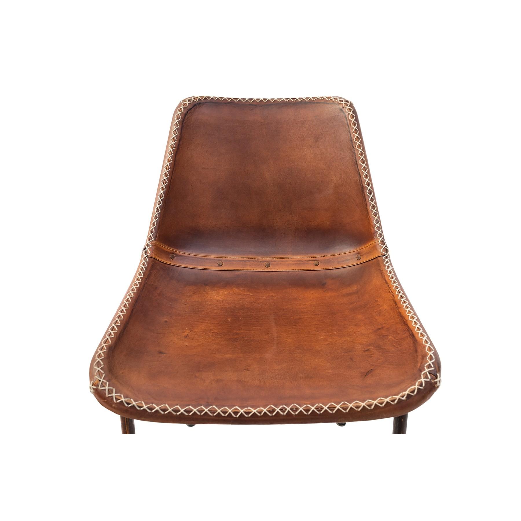 Pin silla de comedor gimlet mobles 114 ociohogarcom on for Sillas de cuero para comedor